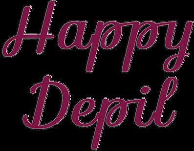 depilazione senza dolore brescia happy depil logo