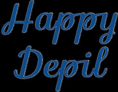 happydepil depilazione uomo brescia logo